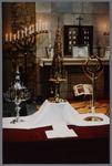 WAT001003349 Interieur van de nieuwe Katholieke kerk.Ingewijd oktober 1956.