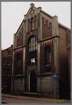 WAT001003316 Doopsgezinde kerk, Kanaalstraat 10, gebouwd in 1861-1862,architect Dorland.Bouwstijl : electricisme. ...