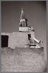 WAT001003331 Afbraak R.K. kerkDe vierde Rooms-katholieke Kerk aan de Kerkstraat. De architect was Molkenboer en de ...