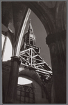 WAT001003332 Afbraak R.K. kerkDe vierde Rooms-katholieke Kerk aan de Kerkstraat. De architect was Molkenboer en de ...