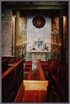 WAT001003346 Interieur van de nieuwe Katholieke kerk.Ingewijd oktober 1956.
