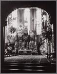 WAT001003354 Interieur van de vierde Rooms-katholieke Kerk aan de Kerkstraat. De architect was Molkenboer en de ...