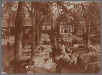 WAT001003368 Schapenmarkt op de Koemarkt.Op de kop van de koemarkt verhandelde men al sinds 1612 koeien, ossen, ...