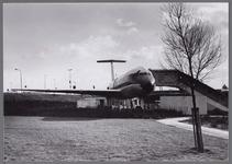 WAT001003479 Leegwaterpark met op de achtergrond een Italiaans restaurant in een vliegtuig(DC8). Later afgebrand.