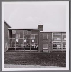 WAT001003544 Opening van de ULO school, de latere Wherelant Mavo.