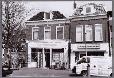 WAT001003646 Hoek Nieuwstraat Westerstraat met op de hoek slijterij wijnhandel party verhuur 'de Drankenier' ...