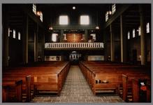 WAT001007903 Interieur van de nieuwe Katholieke kerk. Ingewijd oktober 1956.