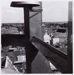 WAT001004588 Stadhuis met carillon door de burgerij geschonken ter gelegenheid van het 550 jaar bestaan van de stad ...