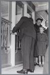 WAT001004892 Opening Groenteveiling B.P. en O. (Beemster, Purmerend en omstreken).Op 9 april 1953 vond de opening ...