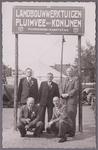 WAT001004940 Comité Purmerend Markstad.Tentoonstelling september 1946 in de Nieuwstraat.