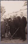 WAT001004942 Comité Purmerend Markstad.Tentoonstelling september 1946 in de Nieuwstraat.