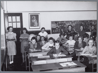WAT001004991 Rooms-katholieke meisjesschool Heilige Catharina, klas VI.