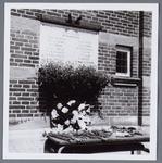WAT001005122 Herdenkingssteen 1940-1945 oude stadhuis aan de Kaasmarkt.