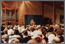 WAT001005253 Officiële opening van het jubleumjaar door commissaris der Koningin drs. R. J. de Wit, vrijdag 13 april ...