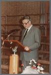 WAT001005257 Officiële opening van het jubleumjaar door commissaris der Koningin drs. R. J. de Wit, vrijdag 13 april ...