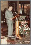WAT001005258 Officiële opening van het jubleumjaar door commissaris der Koningin drs. R. J. de Wit, vrijdag 13 april ...