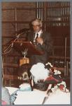 WAT001005259 Officiële opening van het jubleumjaar door commissaris der Koningin drs. R. J. de Wit, vrijdag 13 april ...