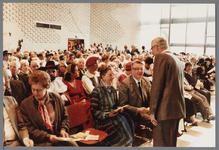 WAT001005260 Officiële opening van het jubleumjaar door commissaris der Koningin drs. R. J. de Wit, vrijdag 13 april ...