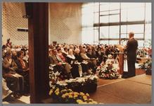 WAT001005263 Officiële opening van het jubleumjaar door commissaris der Koningin drs. R. J. de Wit, vrijdag 13 april ...