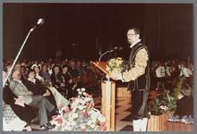 WAT001005271 Officiële opening van het jubleumjaar door commissaris der Koningin drs. R. J. de Wit, vrijdag 13 april ...