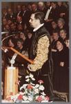 WAT001005289 Officiële opening van het jubleumjaar door commissaris der Koningin drs. R. J. de Wit, vrijdag 13 april ...