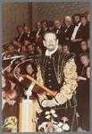 WAT001005290 Officiële opening van het jubleumjaar door commissaris der Koningin drs. R. J. de Wit, vrijdag 13 april ...