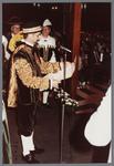 WAT001005292 Officiële opening van het jubleumjaar door commissaris der Koningin drs. R. J. de Wit, vrijdag 13 april ...
