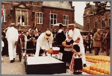 WAT001005359 Purmerend 500 jaar marktstad.Kaasmarkt.