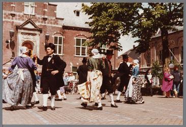 WAT001005383 Purmerend 500 jaar marktstad.Oud-Hollandse markt