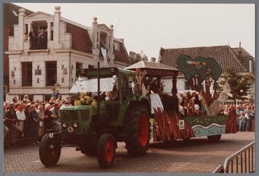 WAT001005443 Purmerend 500 jaar marktstad, historische optocht.