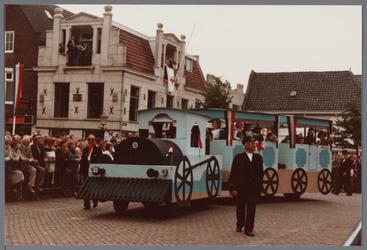 WAT001005457 Purmerend 500 jaar marktstad, historische optocht.