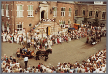 WAT001005433 Purmerend 500 jaar marktstad, historische optocht.