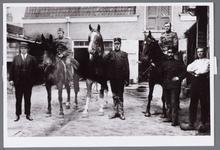 WAT001005674 Johannes Petrus Philippus van Herp tijdens de inkwartiering van militairen tijdens de mobilisatie in 1914-1918.