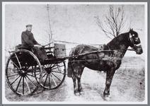 WAT001005675 Jan Deutekom met paard en wagen.