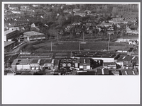 WAT001008464 Sportpark de Munnik , met op de voorgrond de atletiekbaan van NEA-Volharding.