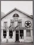 WAT001008528 Het Heerenlogement voor de verbouwing in 1954Het Heerenlogement, voortgekomen uit het voormalig logement ...