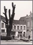 WAT001008550 Het Gouw gezien vanaf het tramplein.Links: Hotel De Amsterdamse poort . Rechts voor : hotel restaurant Bellevue