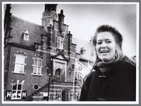 WAT001008850 Schrijfster boekje museum Purmerend Mariette Mathijsen.