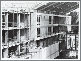 WAT001010089 Bouw Streekziekenhuis Waterland, per 1-1-1994 Waterlandziekenhuis.