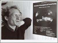 """WAT001014150 Sterrenkundige.Astrofysicus Giel Halberstadt uit Wijdewormer:""""De wetenschap is leuk en interessant, maar ..."""