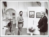 WAT001014427 Opening tentoonstelling 'amateursschilders in Waterland' in het Purmerends museum van 17 december 1988 tot ...