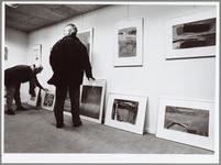 WAT001014501 Museum Waterland.Stilleven rode draad op dag van kunstuitleen.Het stilleven is zaterdag de rode draad van ...