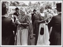 WAT001014864 Volksdansen Kaasmarkt.'Muziek en dans' was het thema van de tweede Purmerendse Kaasmarkt, die gisteren ...