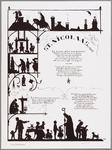WAT001014926 Ontwerp voor een Sint-Nicolaasprent. Deze in Oostindische inkt uitgevoerde zwart-wit tekening werd in 1902 ...