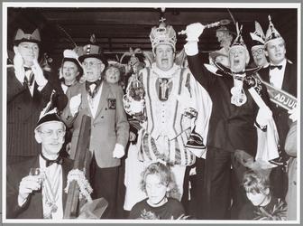 WAT001014927 Stadsprins.Hans Versnel als stadsprins tijdens carnaval.