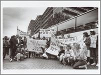 WAT001015044 In september voerden. de bejaardenverzorgers massaal actie voor een betere CAO in Den Haag. De actie was ...