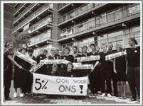 WAT001015037 In september voerden. de bejaardenverzorgers massaal actie voor een betere CAO in Den Haag. De actie was ...