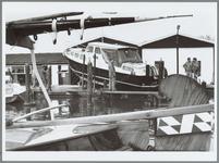 WAT001015944 Tewaterlating van een schip door de firma Neckershop.