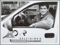 """WAT001016024 Rijscholen. René Evertsen van de verkeersdienst OVR: """"Kaf van koren scheiden in rijschoolbranche met ..."""