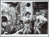 WAT001016132 Engelse week. Wat de exploitanten van de 'Pub of Purmerend' betreft is de Engelse week al begonnen. Ria ...